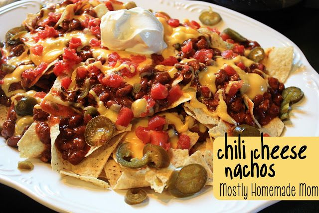 Chili Cheese Nachos, making these tonight with my left over venision chili.  Also will use my canned jalopeno slices!
