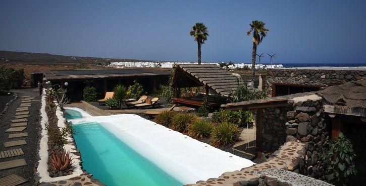 """Lanzarote, une """"retraite"""" au bord de l'eau."""