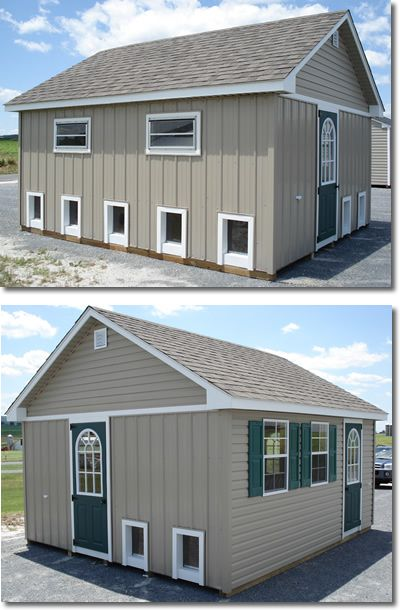 best dog boarding kennel building | Storage Sheds - Lancaster County Barns: Custom Dog Kennels