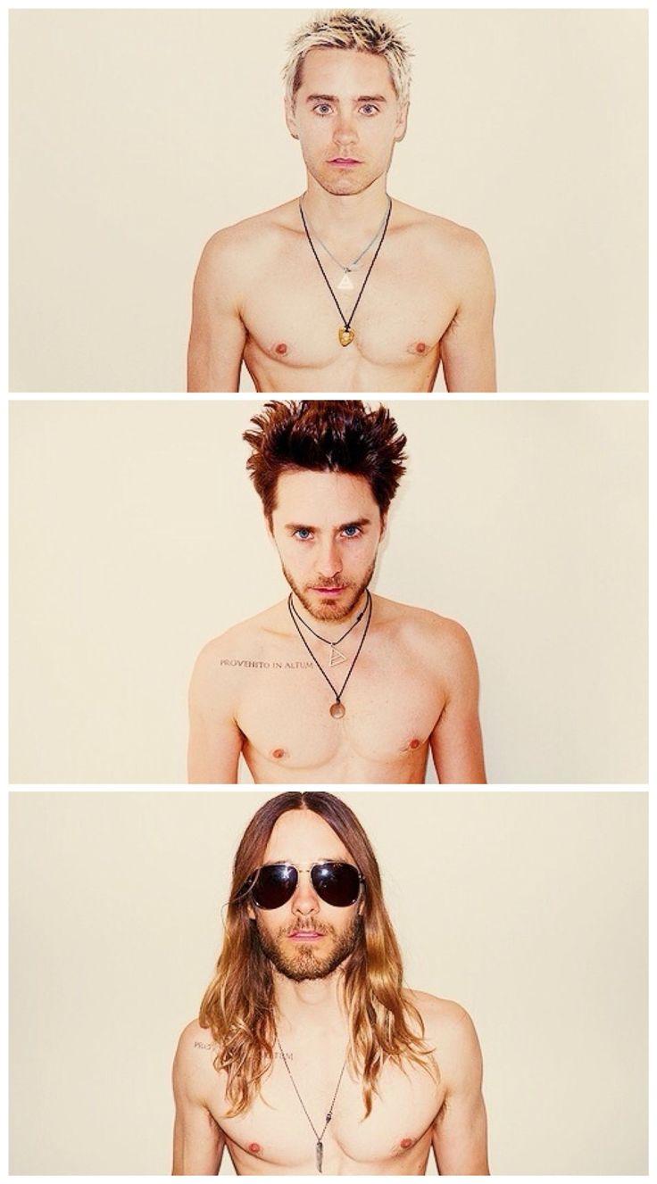 Naked Jared Leto (2010, 2011 & 2014).