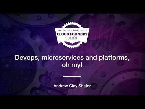 35 best microservices images on pinterest rest app and apps data science on cloud foundry video fandeluxe Images