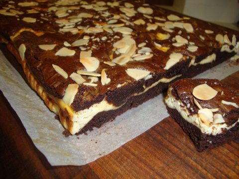 FROST BITE: Recipe - Wicked brownies with cheesecake ripple
