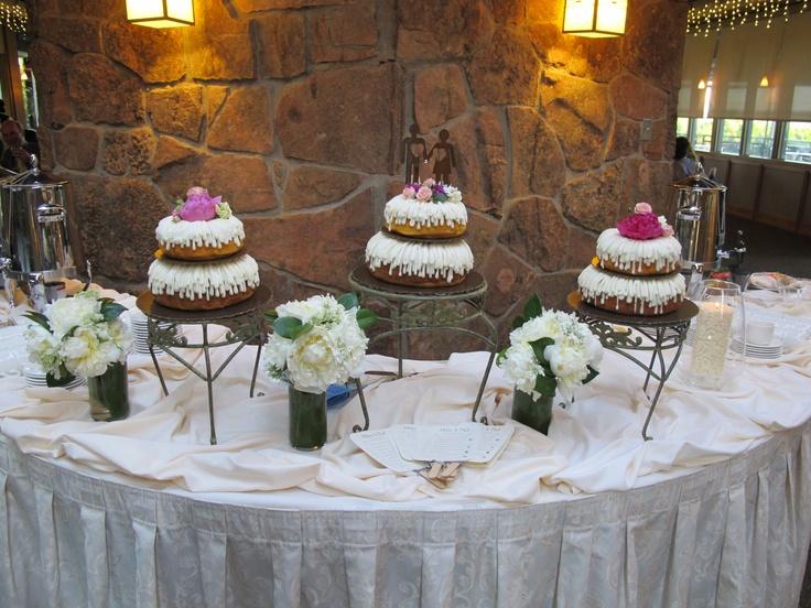 Bundt Cake Display