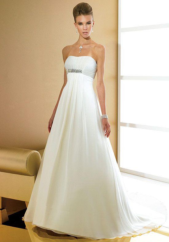 36 besten Empire Waist Wedding Dresses Bilder auf Pinterest ...