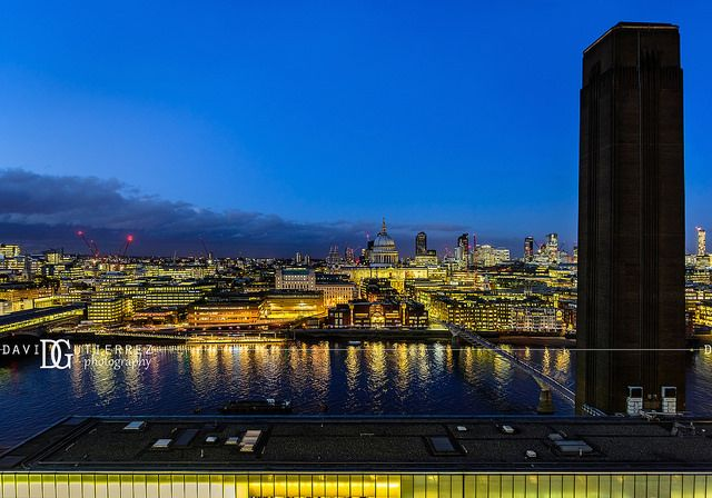 """""""A Story To Tell"""" Switch House, Tate Modern, London, UK. Image by David Gutierrez Photography, London Photographer. London photographer specialising in architectural, real estate, property and interior photography. http://www.davidgutierrez.co.uk #realestate #property #commercial #architecture #London #Photography #Photographer #Art #UK #City #Urban #Beautiful #Interior #Arts #Cityscape #Travel #Building #River #Bridge #Night #Twilight #Street #Thames #Reflection"""