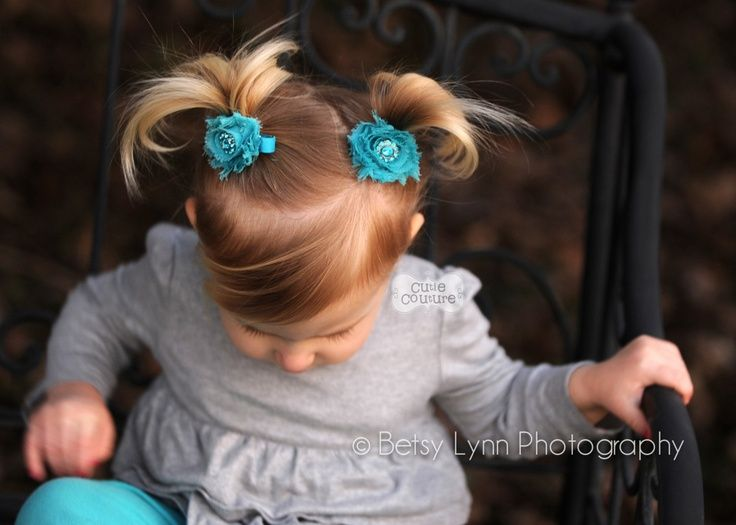 YOU PICK 2-Petite Rhinestone Shabby Clips, Boutique Style, Baby, Toddler, Child, Hair Clip. $7.95, via Etsy.