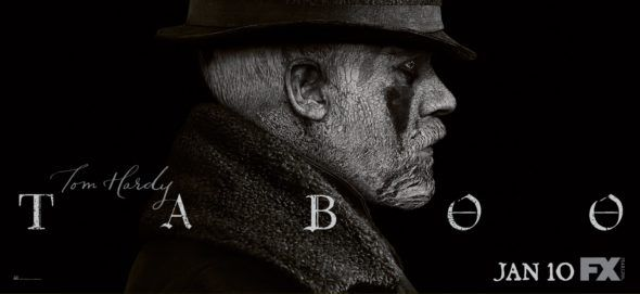 Check out four new Taboo TV show promos from FX. Do you plan to watch the intense Tom Hardy series premiere?
