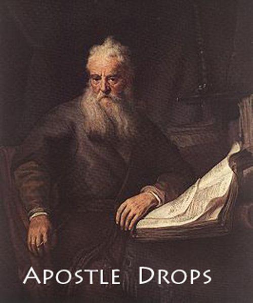 -Apostel Thomas Verlicht rugpijn en zorgt voor geluk op geestlijk vlak en zorgt voor geestelijke groei