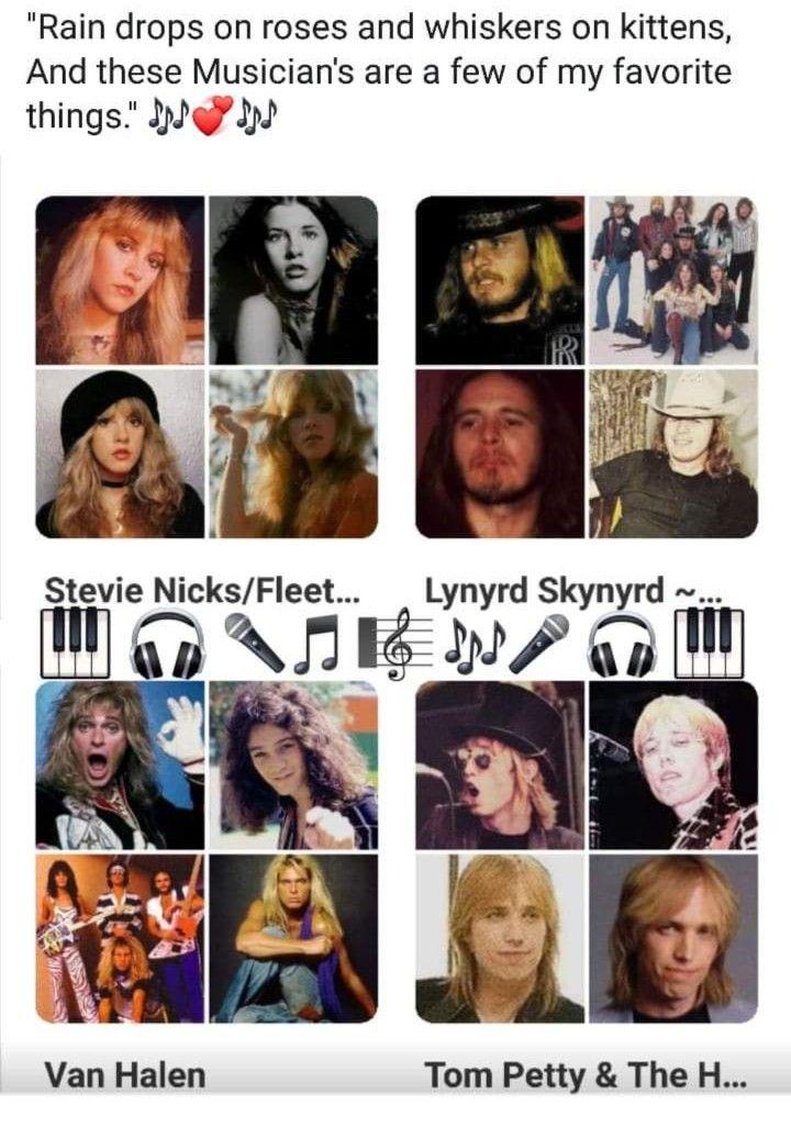 Pin By Sherri Tyler On Song Lyrics Whiskers On Kittens Van Halen Tom Petty