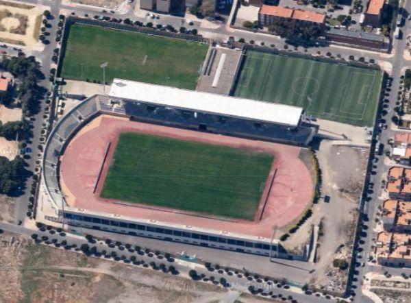 Estadio Sto Domingo En El Ejido Almería Estadio De Futbol Almería Estadios