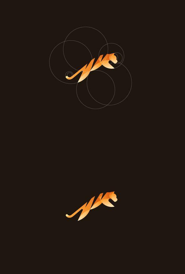 Geometric Animal Logos   PICAME