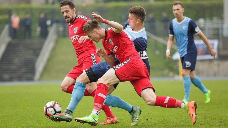 Regionalliga Nordost: Der SV Babelsberg 03 unterliegt beim FC Viktoria 89 mit 1:2.