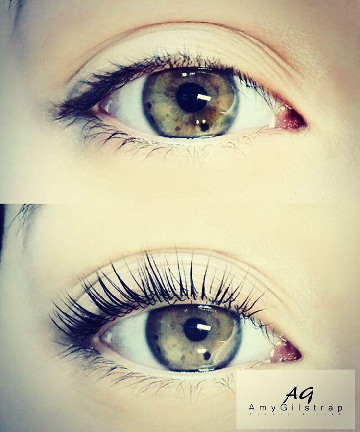 Lash lift lashes eyelash lift waxed eyebrows