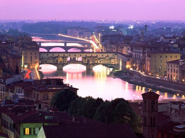 Ponte Vecchio & Arno River, Florence, Italy Sweet memories