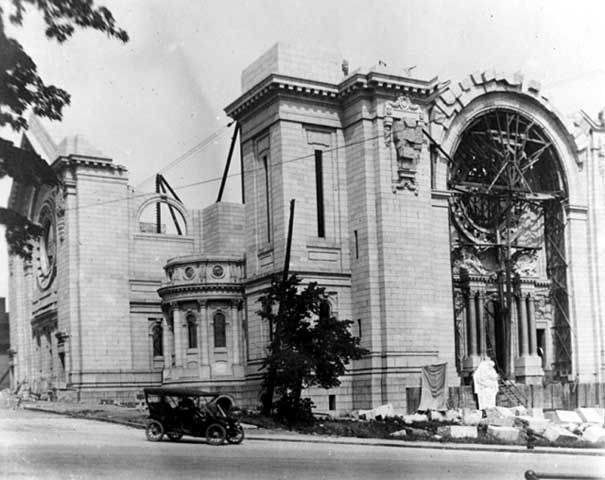 Construction Of The Cathedral Of St Paul St Paul 1912