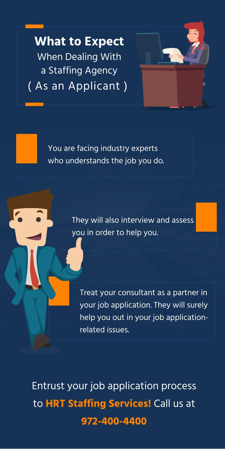 What to Expect When Dealing With a Staffing Agency (As an Applicant) #Staffing www.hrtechs.com
