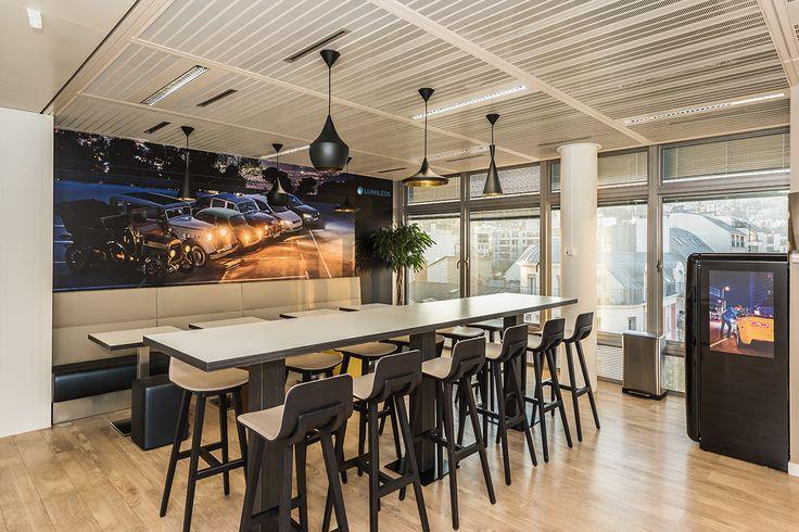 Les 20 meilleures id es de la cat gorie design caf t ria for Amenagement espace detente entreprise