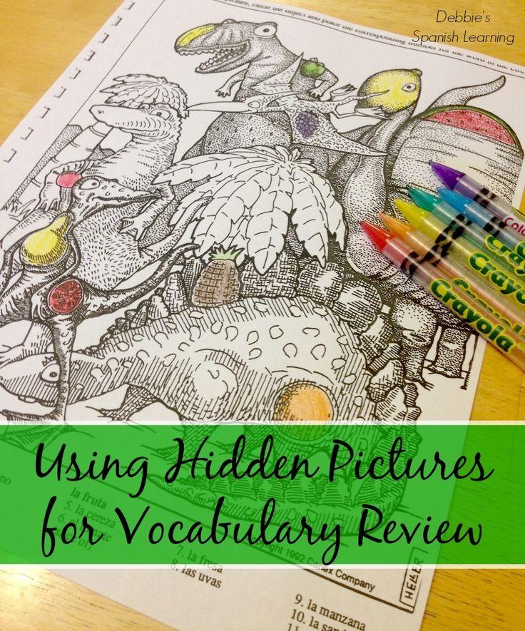 Using Hidden Pictures in Language Teaching