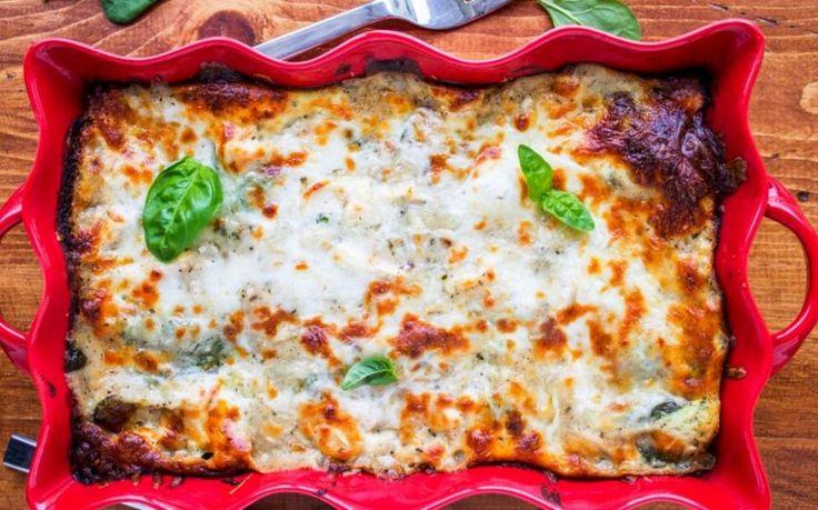 Νόστιμα λαζάνια με λίγες θερμίδες! Γιατί το φαγητό μπορεί να είναι και νόστιμο και υγιεινό!