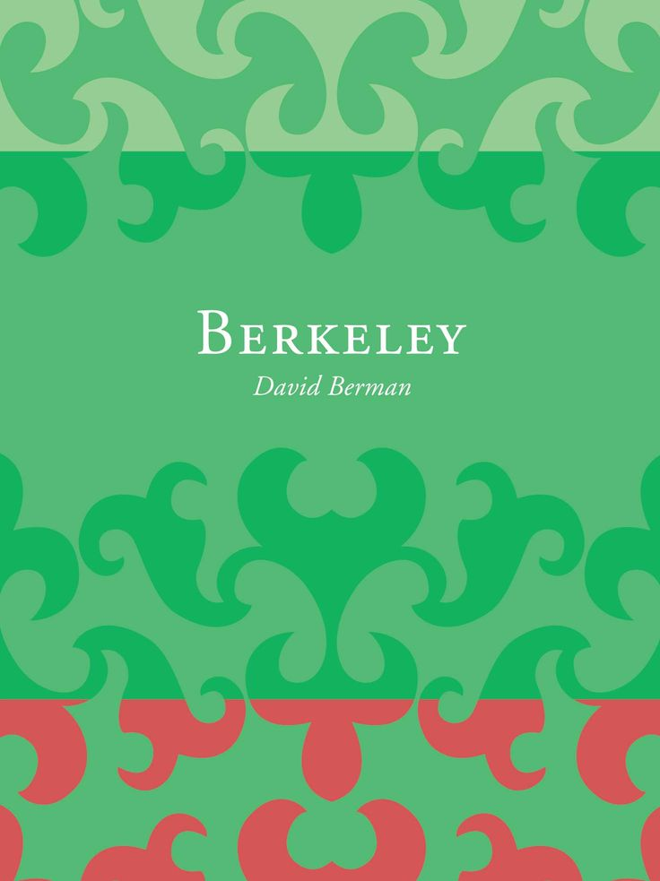 Title: Berkeley | Author: David Berman | Designer: