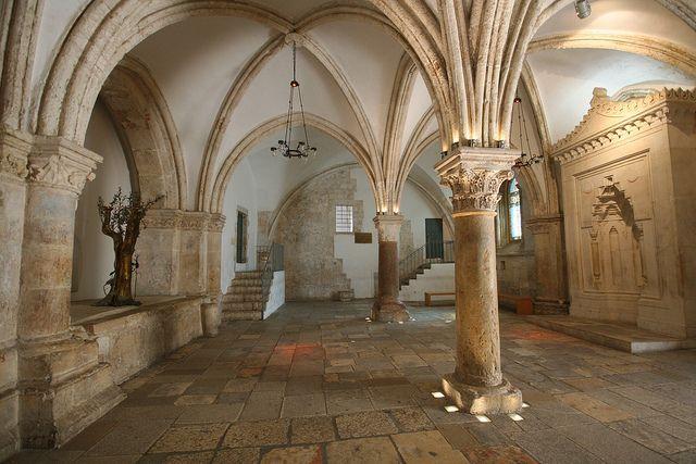 Israel. Room of the Last Supper, Jerusalem   Flickr: jason_harman