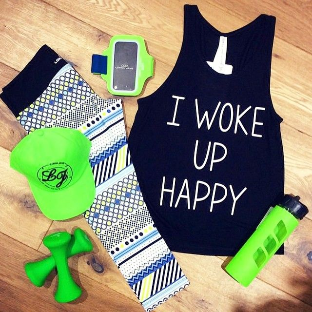 Wake up. Be Happy. Be Active!