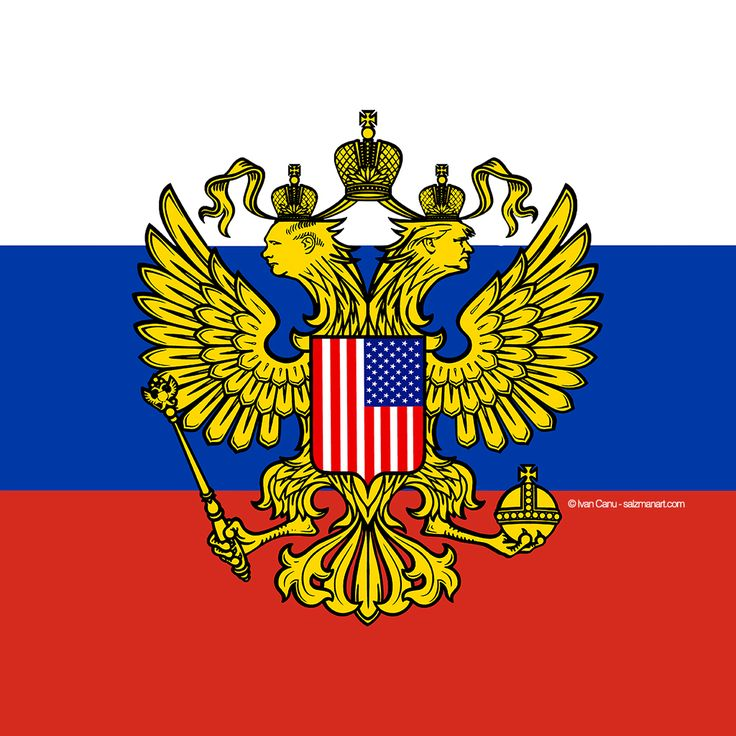 New Order's becoming @Ivan Canu - salzmanart.com #neworder #putin #trump #flag #nationalism #populism #russia #america #bad #power #editorial #illustration #digital