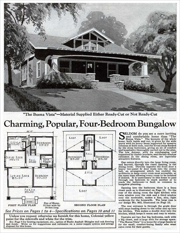 Buena Vista, 1925 Bungalow