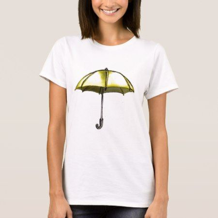 U is for Umbrella T-Shirt - tap to personalize and get yours