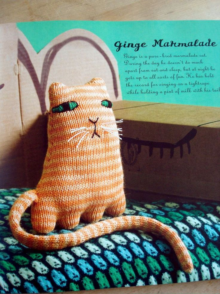 Ginge Marmalade by Donna Wilson#Repin By:Pinterest++ for iPad#