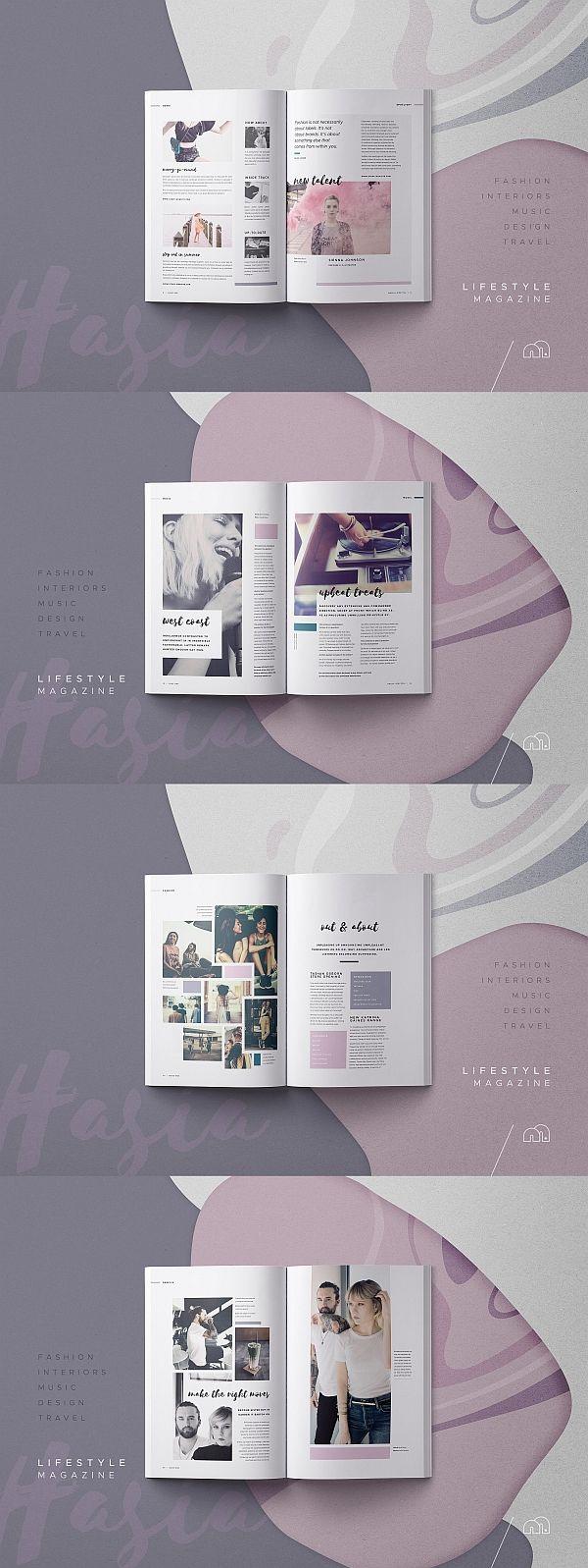 Hasia – Revista Lifestyle  – TYPOgrafie