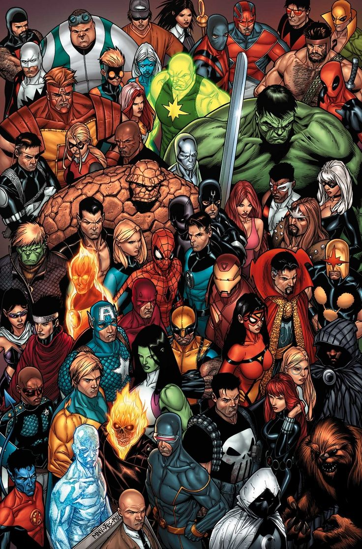 Dark Marvel Characters | Marvel Comics Characters - The Game Wiki