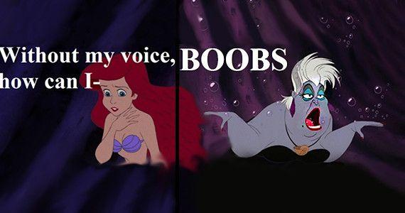 Cattive consigliere: Ursula e Mrs Bennett | Cos'hanno in comune Ursula e Mrs Bennet? Promuovono un modello di donna da acquario tropicale!
