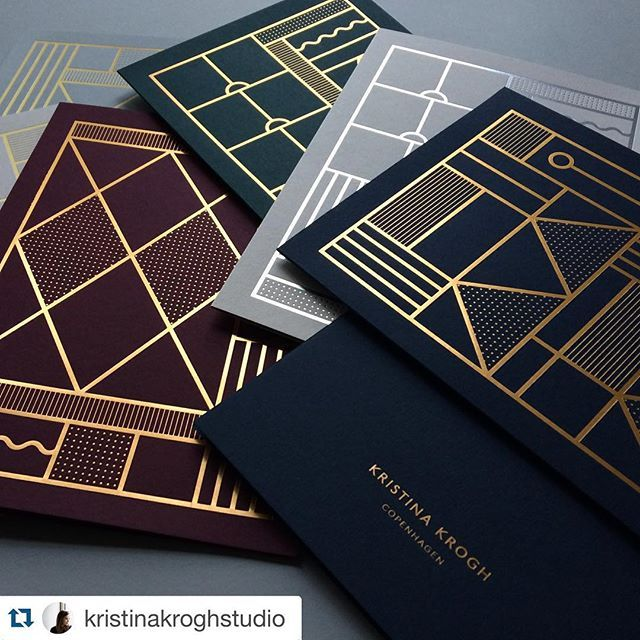 """""""#Repost @kristinakroghstudio New foiled A5 cards have just arrived. These cards are inspired by vintage Italian doors and windows. Available in the shop next week. #kristinakrogh #cards"""" Photo taken by @moco_loco on Instagram, pinned via the InstaPin iOS App! http://www.instapinapp.com (12/03/2015)"""