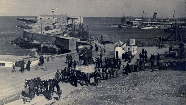 The Carnival of Heraklion in 1924.