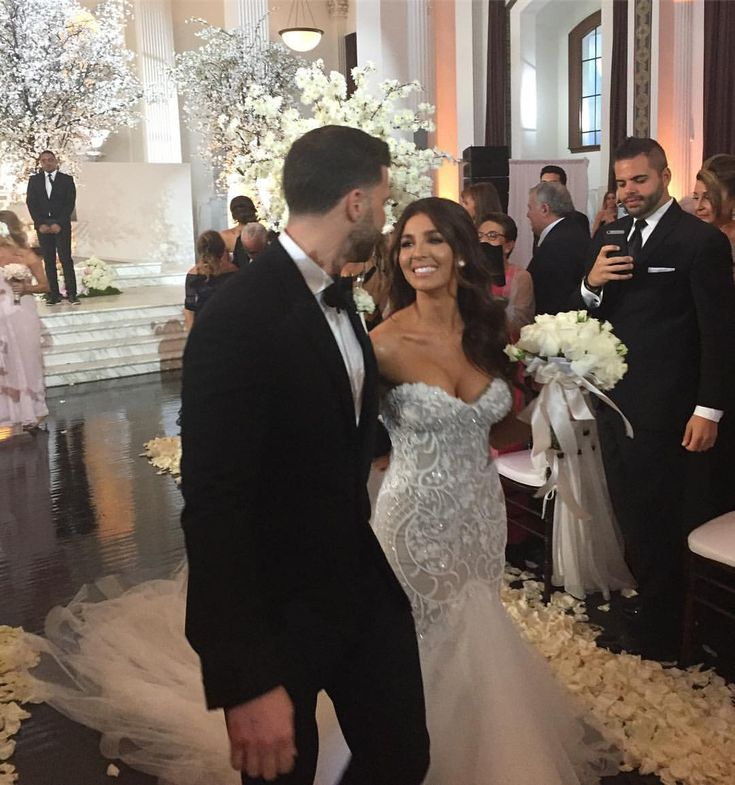 Melissa Molinaro- wedding ceremony dress
