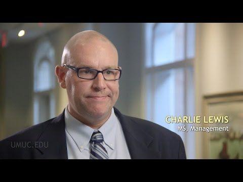 Charlie Lewis, a UMUC alum, shares his #UMUCMoment.