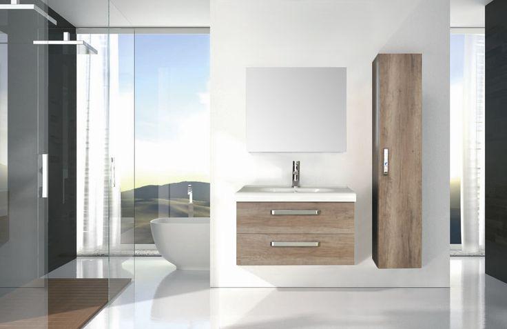 Badmeubelserie Q9: Elegant en stijlvol!   Een badmeubel met een uniek wastafelblad, geeft die extra finishing touch ! Het wastafelblad valt met een mooie ronding over de voorzijde van het meubel. Het meubel is er in de uitvoering met twee of drie lades. Combineer met kolomkasten, een design spiegel en/of een spiegelkast en creëer een opvallende invulling van uw badkamer. (Heeft u minder ruimte, alleen al een derde lade zorgt voor 60% meer opbergruimte!)