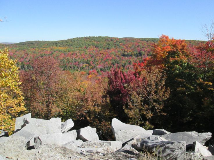 Taken at the Old Stone Quarry, Becket, Ma. Fall of 2016