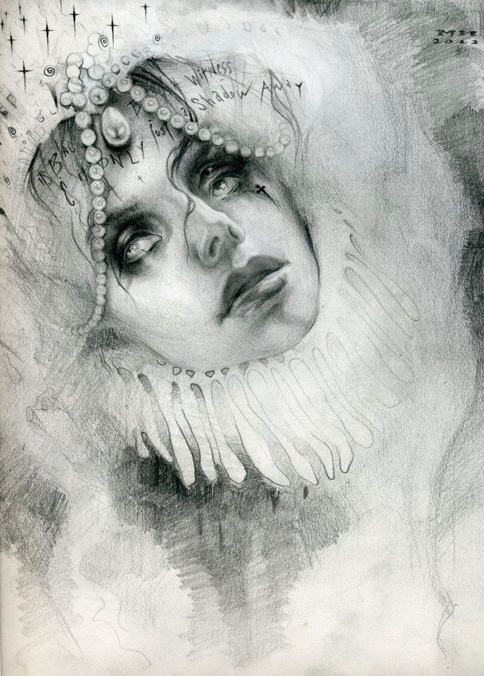 Michael Hussar. Drawing of Trisha Lurie
