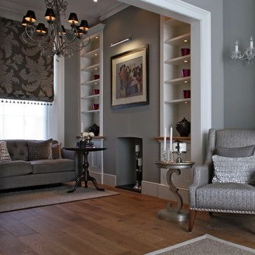 Victorian Terrace Living Room Design Ideas, Pictures, Remodel and Decor