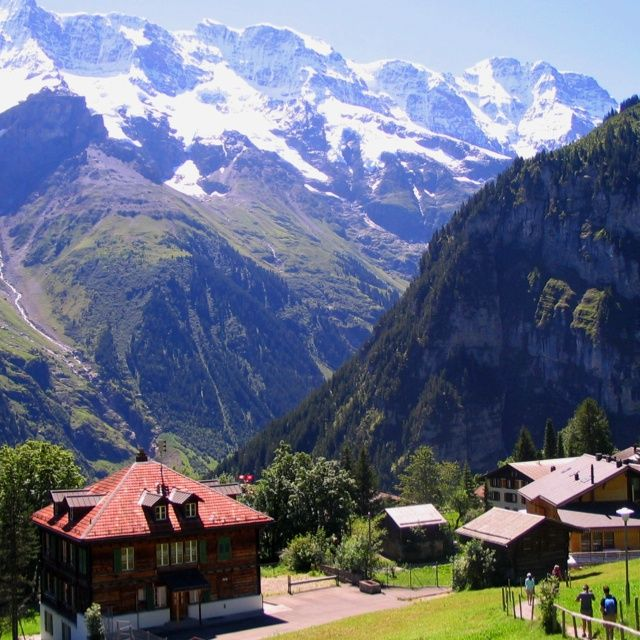 Beautiful Switzerland | Gimmelwald Switzerland