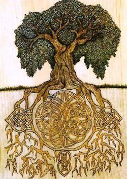 Viking Life... The tree of life from Norse mythology.