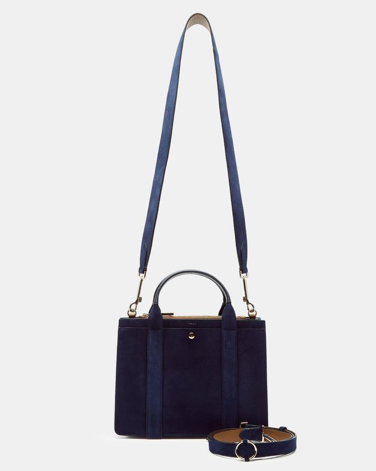 Mini West Bag in Suede