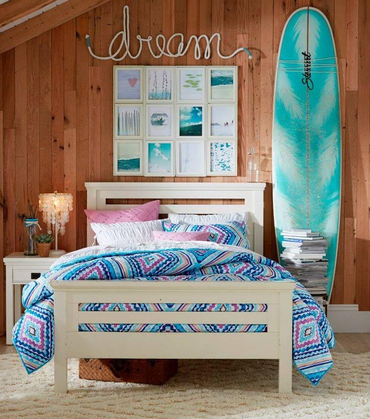Ocean Side Room In 2019 Surf Bedroom Girls Bedroom