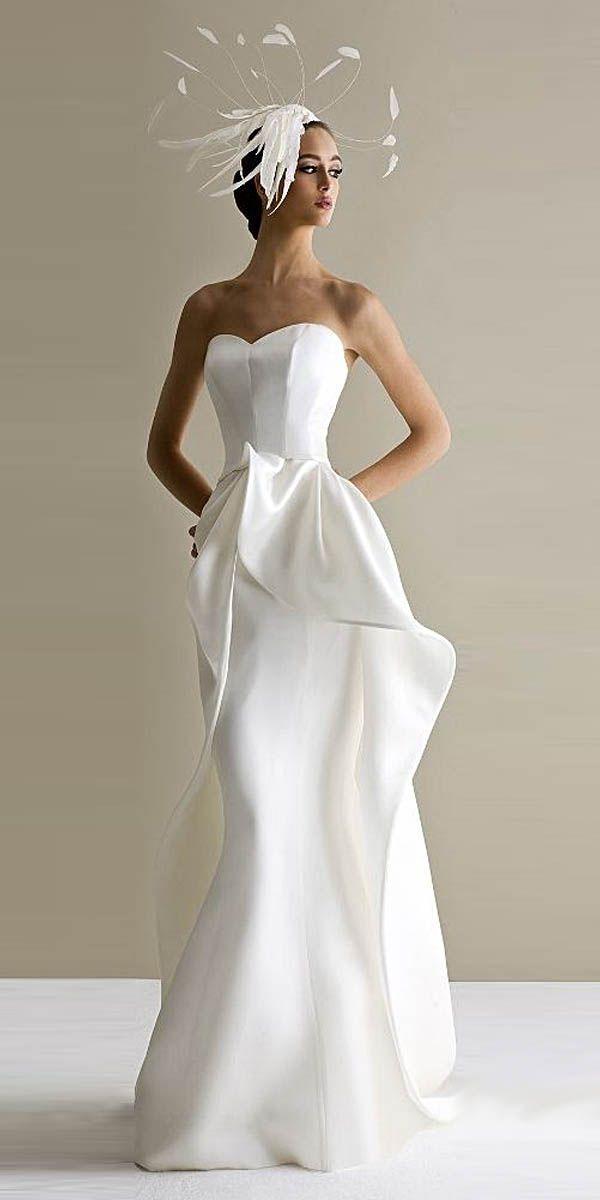 30 robes de mariée avant uniques