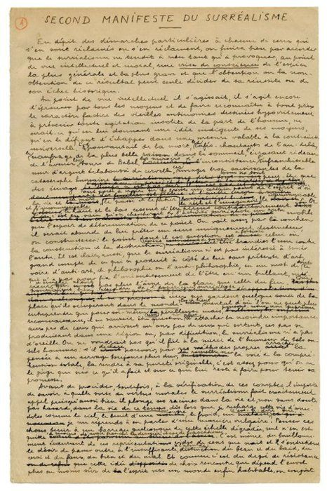 André BRETON. Second Surrealist Manifesto