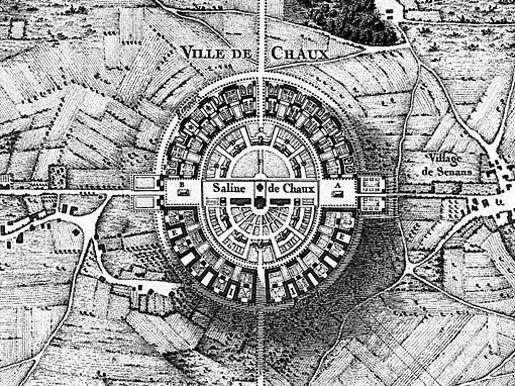 Urban Networks: Aproximación al círculo como estructura urbana: Ciudades circulares y otros trazados (parte primera).
