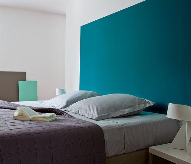 Le grand bleu comme une invitation plonger dans un oc an for Tendance peinture chambre parents