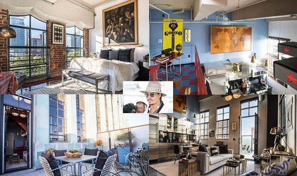 الألوان الكلاسيكية تجتمع في غرف النوم داخل منزل جوني ديب Structures